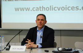 Jack Valero, fundador Voces Católicas Reino Unido.