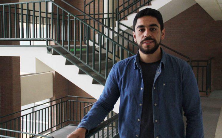 Andrés Rojas, protagonista de esta entrevista.