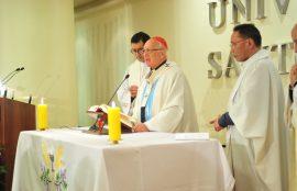 Misa presidida por el cardenal Ricardo Ezzati