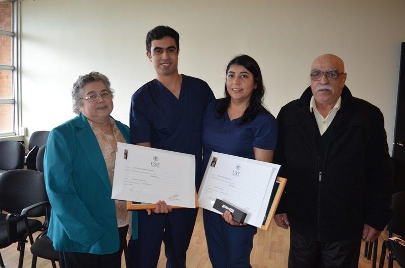 Clementina González, Julio Saldivia, María Seguel y Custodio Saldivia