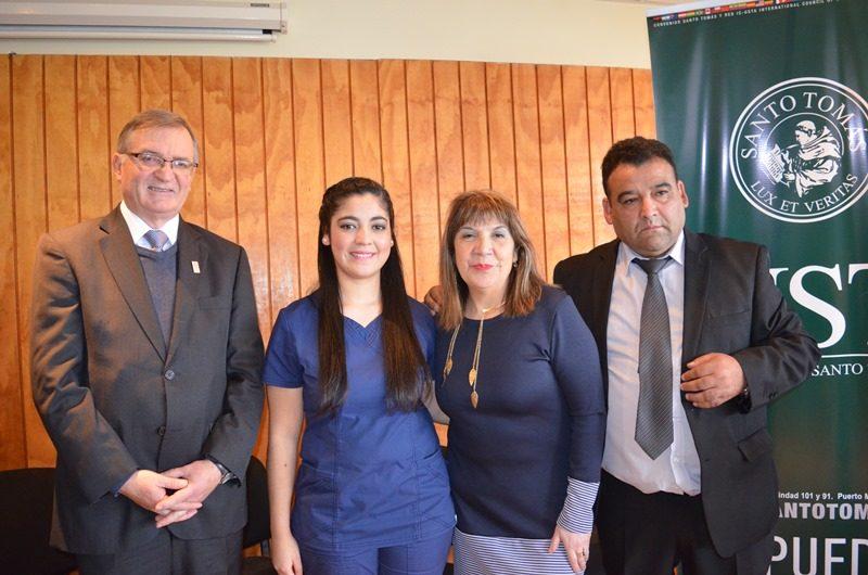 ugenio Larraín, Constanza Rojas, Nancy Villarroel e Iván Rojas