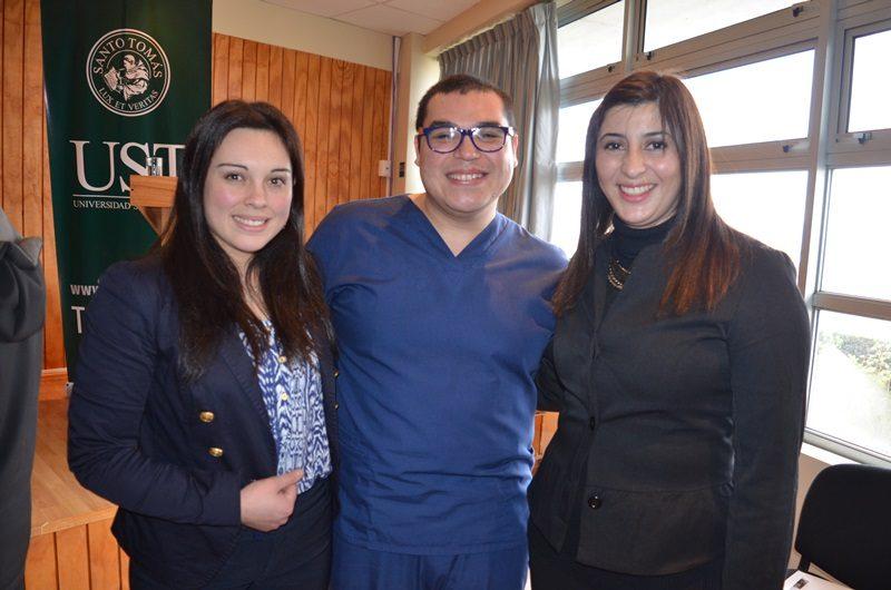 Gabriela Ramirez, Eduardo Pérez y Gisela Soto