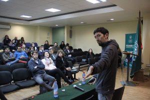 Danko Ravlic en Ciclo de talleres de emprendimiento en UST.