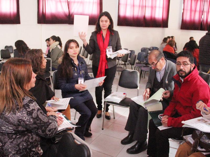 Primer diagnóstico junto a participantes.