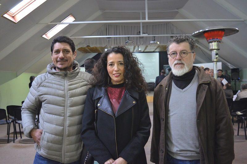 Alberto Loncomilla, Martina Delgado y Juan Gutierrez