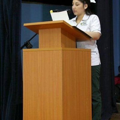 Alumna Fernanda Barrios