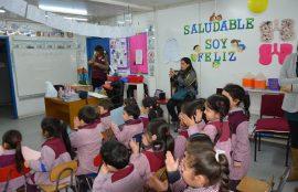 Preescolares de San Pedro reciben charlas de salud a través del proyecto Saludable Soy Feliz de la UST