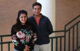 Geraldine Valencia junto a Matías Arancibia.