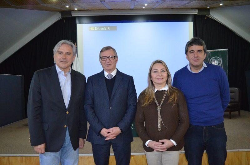 Iván Moreira, Eugenio Larraín, Marisol Turres y Alejandro Santana