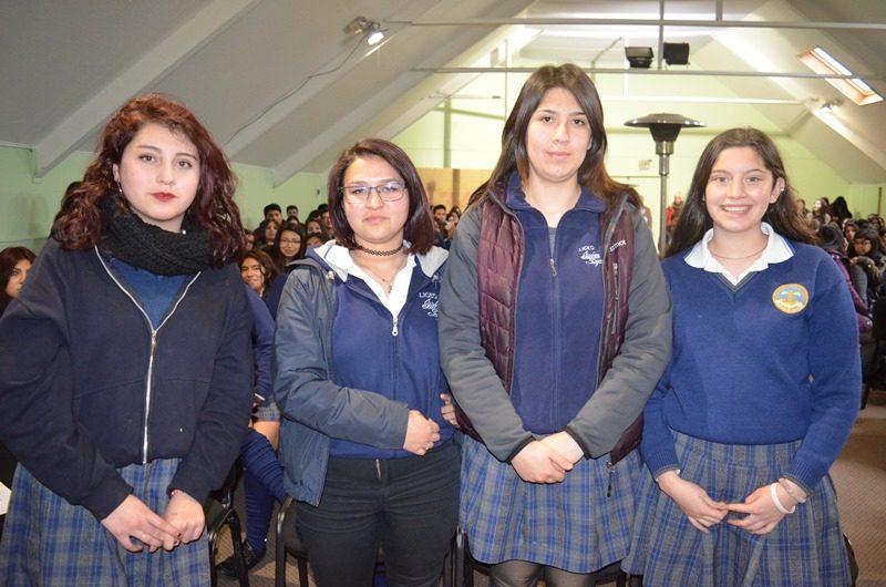 Jaime Aguilar, Bastián Paredes y Dilan Rodríguez
