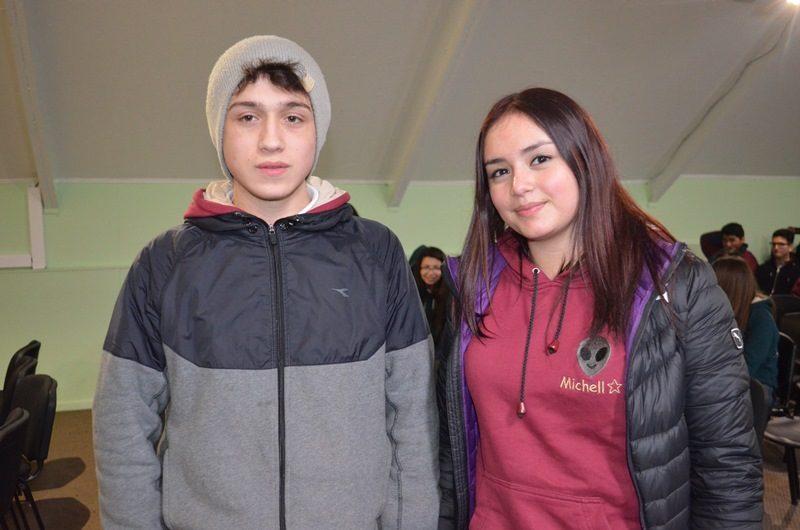 Johann Leichtle y Michelle Bascuñan