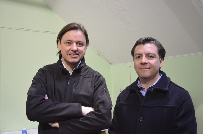 Jorge Carpinelli, y Jorge Muñoz