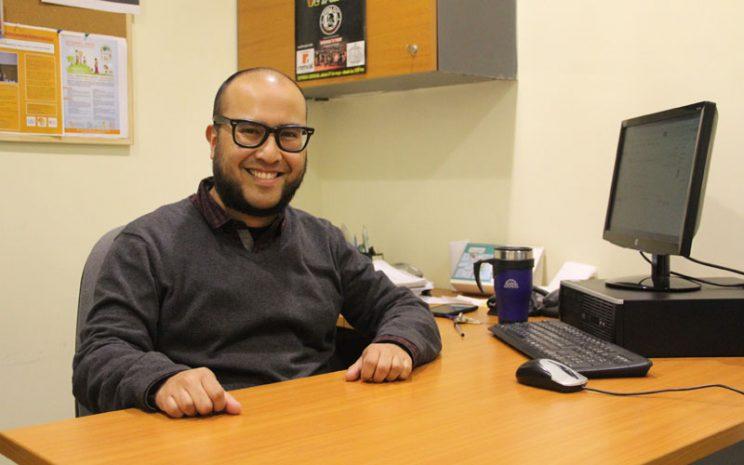 El académico José Shu en su oficina.