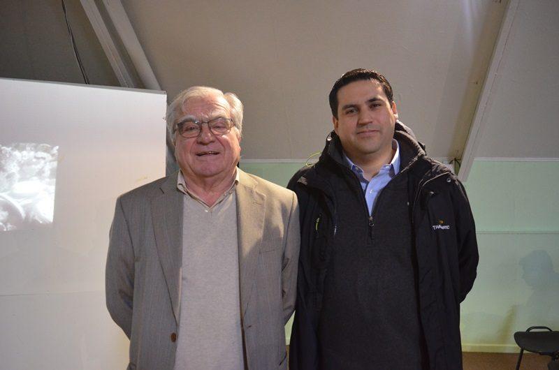 Luis Schmidth y Carlos Díaz