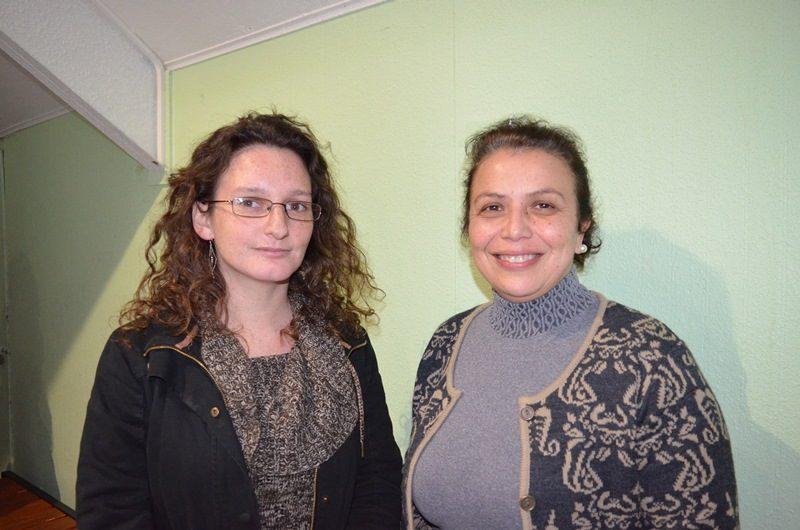 Romina Bonnault y Carolina Mártinez