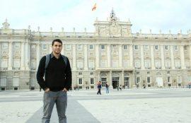 Juan Sepúlveda y su pasantía en Barcelona