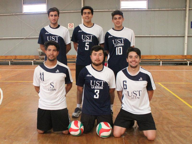 Equipo vóleibol varones UST.