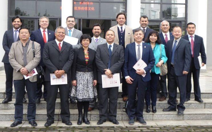 Delegación del Campamento de Educadores en Anhui