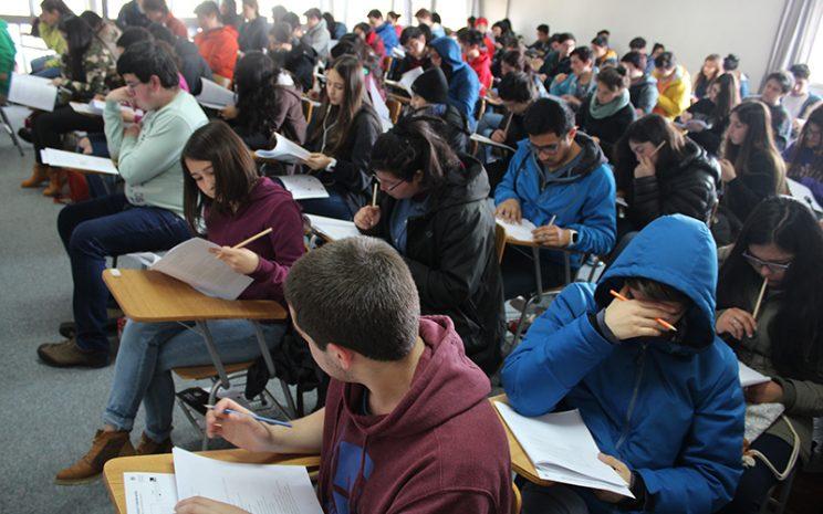 alumnos y PSU
