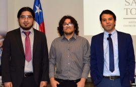 Ignacio, Julio y sebastián emprendedores Tomasinos.