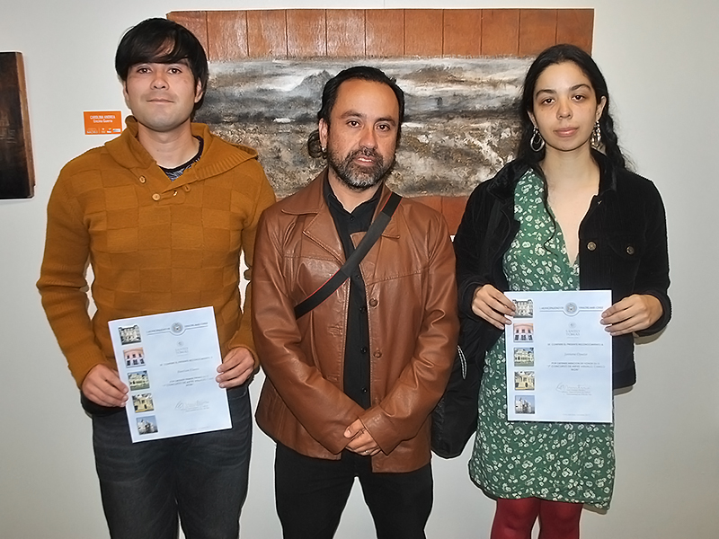 Premiación Concurso de Artes Camilo Mori