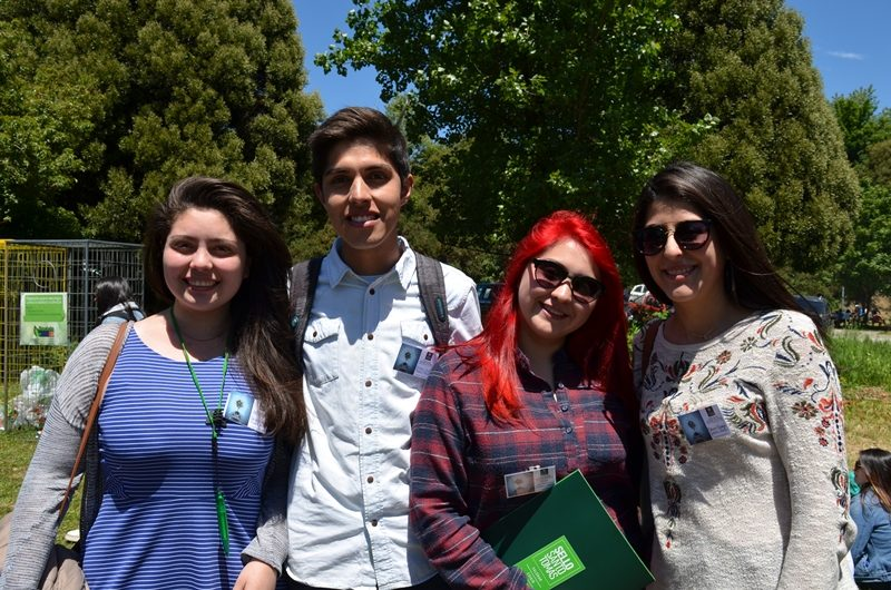 Bárbara Velásquez, Cristobal Toncoso, Constanza Palma y Mariana Mayorga