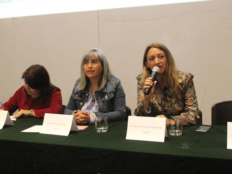 Candidata Francesca Figari.
