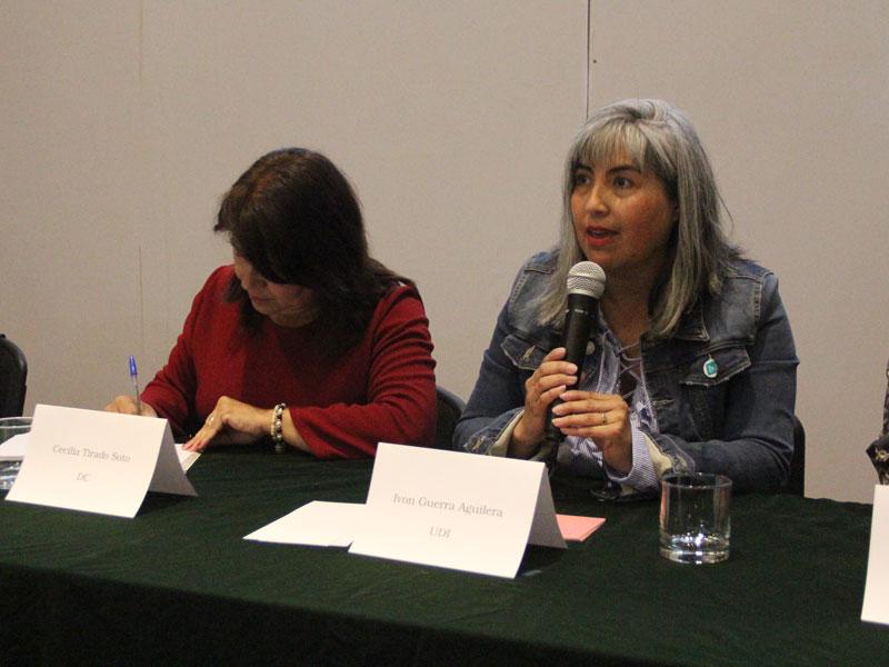 Candidata Ivon Guerra.
