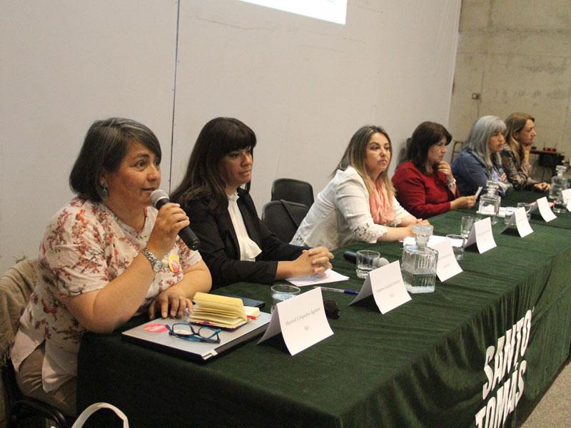 Candidata Marisol Céspedes.