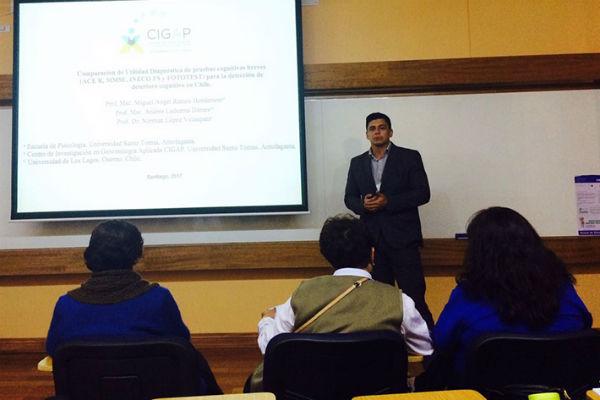 El académico Miguel Ángel Ramos también habló del trabajo que realizan en el Cigap.
