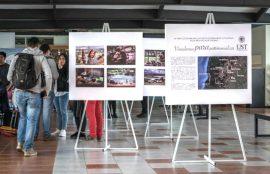 Una exposición de imagenes que grafican el trabajo realizado se exhibió como parte del Seminario de la UST Osorno.