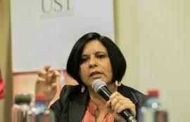 La docente de la UST Antofagasta.