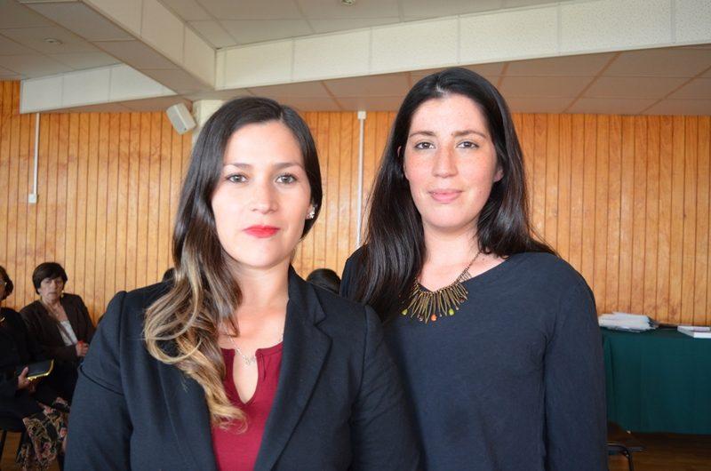 Antonieta Aguero y Patricia Oñate