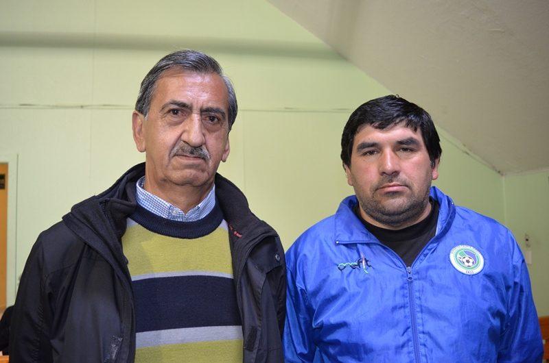 Eriberto Soto y Luís Martínez