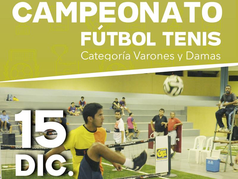 campeonato fútbol tenis santo Tomás antofagasta