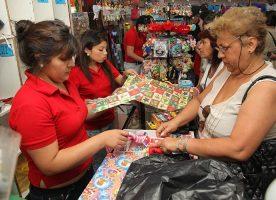 comercio en navidad