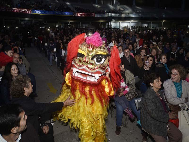 Año Nuevo Chino en la Quinta Vergara