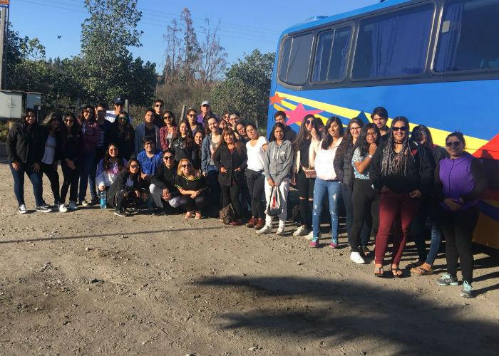 Un total de 42 alumnos de Antofagasta serán voluntarios.