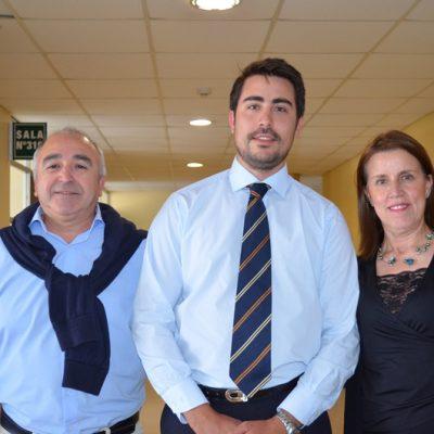 Patricio Ordoñez, Diego Ordoñez y María Soledad Bayo