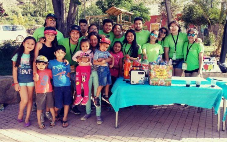 alumnos de santiago trabajos voluntarios