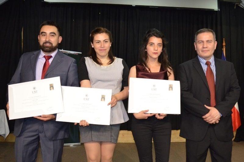 Titulados Pedagogía en Inglés UST