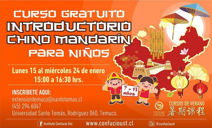 Curso de Chino Mandarín en Temuco