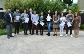 Estudiantes nuevos reciben Beca PSU Santo Tomás en Osorno