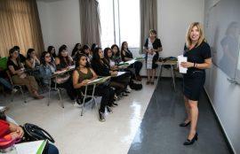 La idea es orientar a los alumnos para su formación profesional.