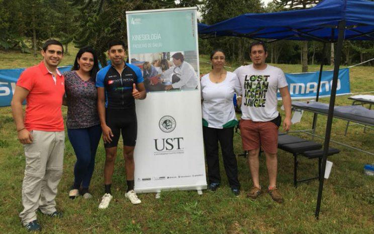 """Kinesiología de la UST Osorno apoyo la competencia de Mountain Bike """"Desafío XC Funtage 2018"""""""