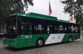 bus electrico transantiago