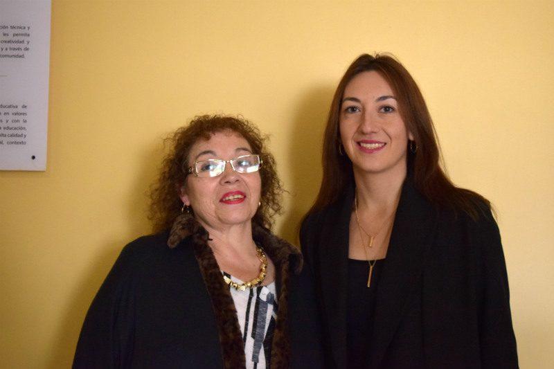 Alicia Sánchez y Carolina Hernández