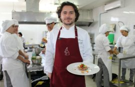 El chef colombiano, Alejandro Cuellar.