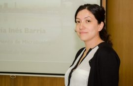 María Inés Barría, microbiologa
