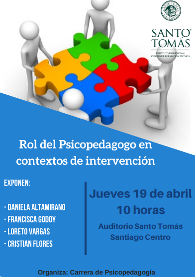 afiche psicopedagogía